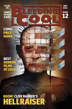 Image: Bleeding Cool Magazine #12 - Bleeding Cool