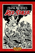 Image: Frank Thorne's Red Sonja Art Edition Vol. 02 HC  - Dynamite