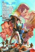 Image: Six Million Dollar Man: Season 6 #6 (cover - Ross) - Dynamite