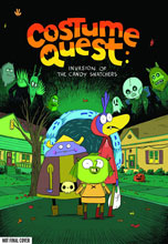 Image: Costume Quest: Invasion of the Candy Snatchers HC  - Oni Press Inc.