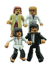 Image: Pulp Fiction Minimates Set: Vincent and Mia's Night Out  -