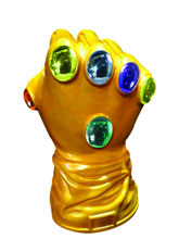 Image: Marvel Infinity Gauntlet Previews Exclusive Bust Bank  -
