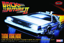 Image: Back to the Future 2 Model Kit: Time Machine  (1/25 Scale) -