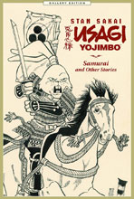Image: Usagi Yojimbo Gallery Edition: Samurai and Other Stories HC  - Dark Horse Comics