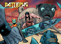 Image: Battlepug Vol. 04: The Devil's Biscuit HC  - Dark Horse Comics