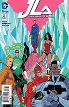 Image: Justice League of America #3 (variant cover - Tradd Moore) - DC Comics