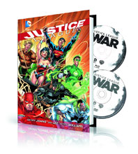 Image: Justice League Vol. 1: Origin Book & DVD/Blu-ray HC  - DC Comics