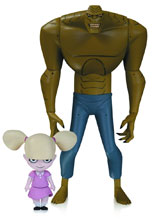 Image: New Batman Adventures Action Figure 09: Killer Croc with Baby Doll  - DC Comics
