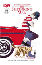 Image: Shrinking Man #2 (subscription cover - Mark Torres) - IDW Publishing