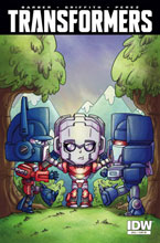 Image: Transformers #44 (variant incentive cover - Agnes Garbowska) (10-copy) - IDW Publishing