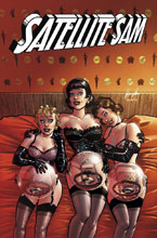 Image: Satellite Sam Vol. 03: Satellite Sam and the Limestone Caves of Fire SC  - Image Comics