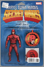 Image: Secret Wars #6 (variant cover - Christopher Action Figure) - Marvel Comics