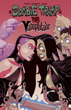 Image: Zombie Tramp vs. Vampblade SC  - Action Lab - Danger Zone