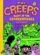 Image: Creeps Vol. 01: Night of Frankenfrogs GN  - Amulet Books