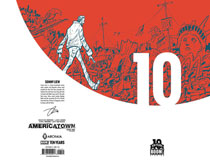 Image: Americatown #1 (variant incentive cover - 10 Year Liew) (10-copy) - Boom! Studios