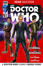 Image: Doctor Who Event 2015: Four Doctors #5 (cover A - Edwards) - Titan Comics