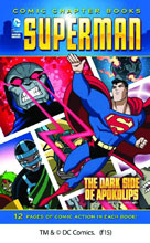 Image: DC Super Heroes Comic Chapter Books: Superman  - The Dark Side of Apokolips SC  (young readers) - Capstone Press