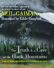 Image: Truth Is a Cave in the Black Mountains HC  (limited edition) - William Morrow