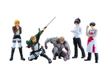Image: Attack on Titan Capsule Toys Series 04 12-Count Display  -