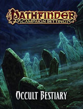 Image: Pathfinder Campaign Setting Occult Bestiary SC  -
