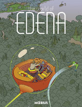 Image: Moebius Library: The World of Edena HC  - Dark Horse Comics