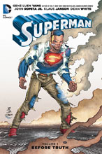 Image: Superman Vol. 01: Before Truth SC  - DC Comics