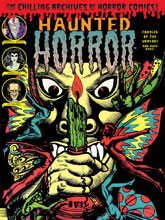 Image: Haunted Horror: Candles for the Undead and Much More! HC  - IDW Publishing