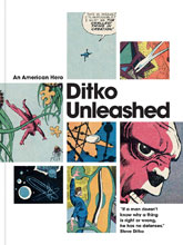 Image: Ditko Unleashed: An American Hero HC  - IDW Publishing