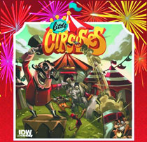 Image: Little Circuses Board Game  - IDW Publishing