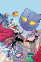 Image: Mighty Thor #10 (variant cover - Bustos Tsum Tsum) - Marvel Comics