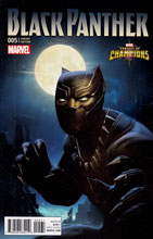 Image: Black Panther #5 (Kabam Contest of Champions incentive cover - 00571) - Marvel Comics