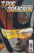Image: Poe Dameron #5 (incentive cover - Stewart) - Marvel Comics