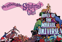 Image: Unbeatable Squirrel Girl OGN by Henderson Poster  - Marvel Comics