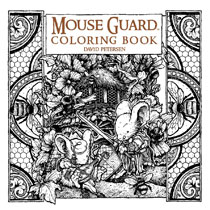 Image: Mouse Guard Coloring Book  - Boom! Studios