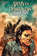 Image: Army of Darkness Furious Road #6 (cover A - Hardman) - Dynamite