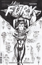 Image: Miss Fury Vol. 2 #5 (Lau b&w incentive cover - 05031) (15-copy)  [2016] - Dynamite