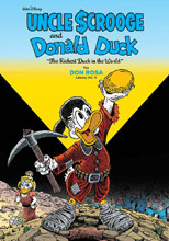 Image: Walt Disney Uncle Scrooge & Donald Duck: The Richest Duck in the World Don Rosa Library Vol. 05 HC  - Fantagraphics Books