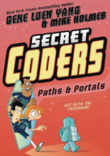 Image: Secret Coders Vol. 02: Paths & Portals GN  - First Second (:01)