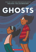 Image: Raina Telgemeier: Ghosts HC GN  - Graphix