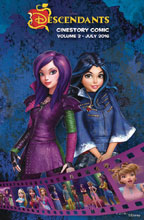 Image: Disney Descendants Wicked World Cinestory Vol. 02 SC  - Joe Books Inc.