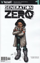 Image: Generation Zero #1 (Guinaldo Character Design incentive cover - 00151) (10-copy) - Valiant Entertainment LLC