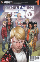 Image: Generation Zero #1 (Henry incentive cover - 00171) (40-copy) - Valiant Entertainment LLC