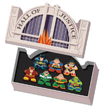 Image: DC Mighty Meeples Hall of Justice Collection  - Cryptozoic Entertainment