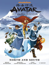 Image: Nickelodeon Avatar: The Last Airbender - North and South Library Edition HC  - Dark Horse Comics