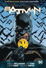 Image: Batman / The Flash: The Button Deluxe Edition HC  - DC Comics