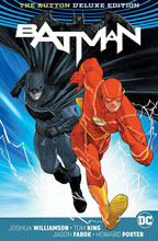 Image: Batman / The Flash: The Button Deluxe Edition International Edition HC  - DC Comics