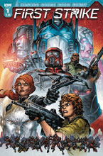 Image: First Strike #1 (cover A - Williams II)  [2017] - IDW Publishing