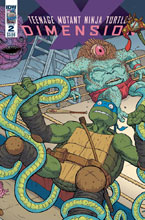 Image: Teenage Mutant Ninja Turtles: Dimension X #2 (cover A - Pitarra) - IDW Publishing