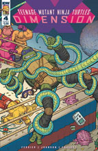Image: Teenage Mutant Ninja Turtles: Dimension X #4 (cover A - Pitarra)  [2017] - IDW Publishing