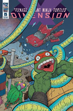 Image: Teenage Mutant Ninja Turtles: Dimension X #5 (cover A - Pitarra) - IDW Publishing